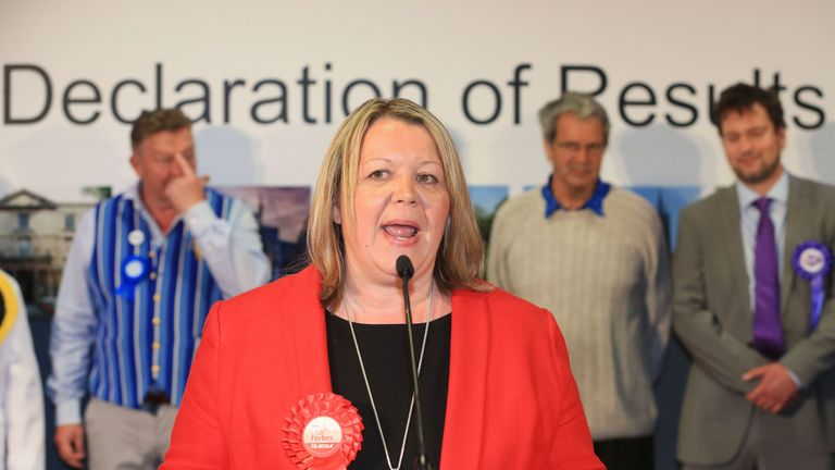 The Peterborough by-election was won by Lisa Forbes of the Labour Party in June