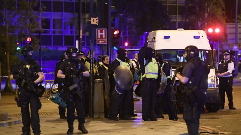 Police have responded to terror attack on London Bridge in central London.