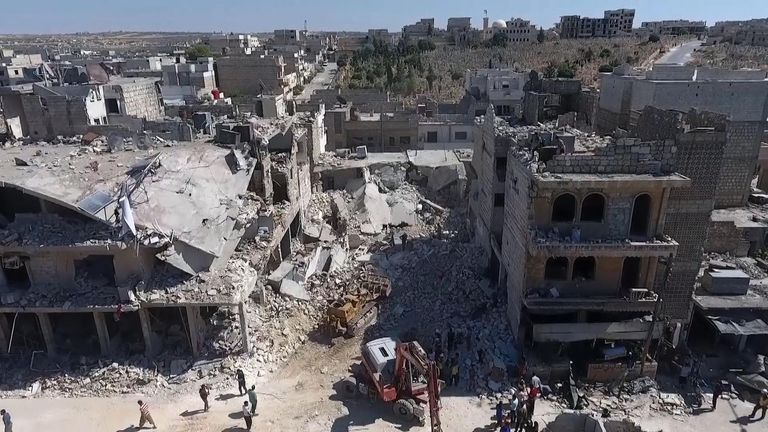 Russian jets 'behind fatal airstrikes on school district'