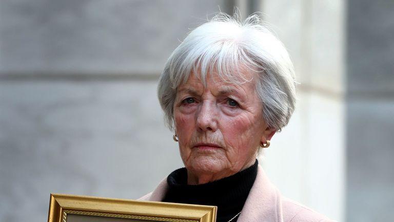 Marie McCourt, mother of Helen McCourt