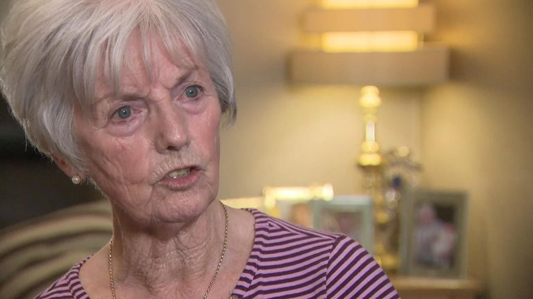 "The mother of Helen McCourt says she was ""shocked"" by the release of Ian Simms."
