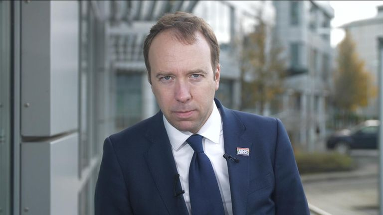 The Health Secretary Matt hancock has insisted the NHS is not for sale in any trade deal with the US.