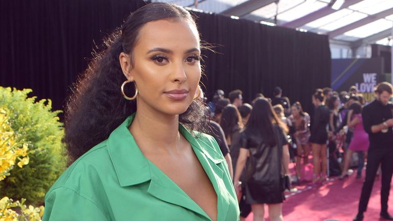 Radio presenter Maya Jama won UK & Ireland's best dressed star at the People's Choice Awards in Los Angeles