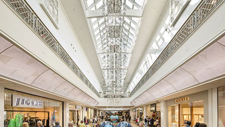 Meadowhall in Sheffield is among British Land's portfolio of shopping centres