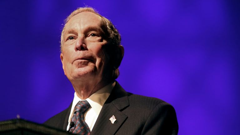 Michael Bloomberg is one of the world's richest men