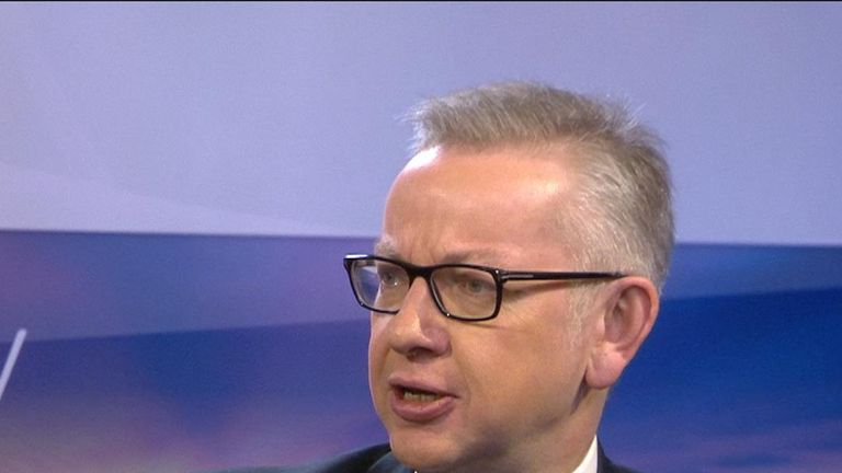 Michael Gove says Boris Johnson's appearance on TV debates is 'a matter for him'