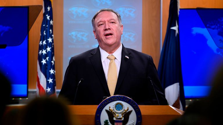 Mike Pompeo announced that the Trump administration does not consider Israeli settlements in the West Bank a violation of international law