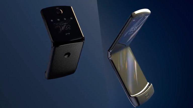 Motorola is relaunching its Razr as a foldable-screen phone