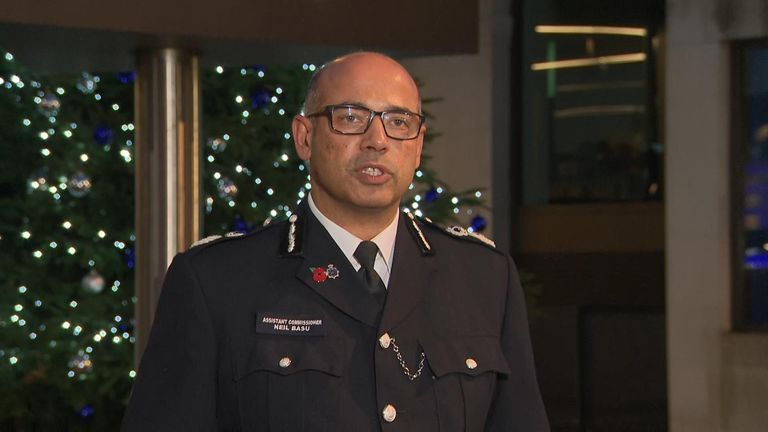 The Met Police assistant commissioner has confirmed the alleged attacker who was shot on London Bridge has died.