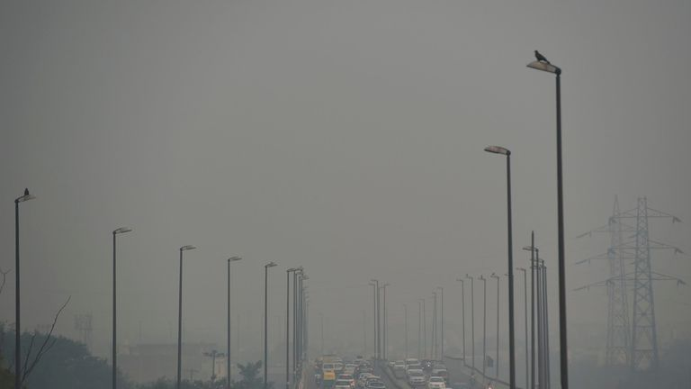 Smog in New Delhi