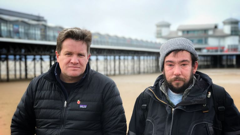 Nick Martin spoke to Tom in Weston-super-Mare