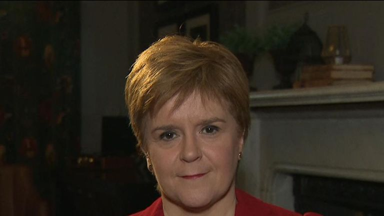 Nicola Sturgeon says there will be 'no formal coalition' created with the SNP in the event of a hung parliament