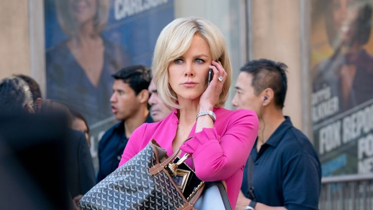 Nicole Kidman stars as ...Gretchen Carlson... in BOMBSHELL. Photo Credit: Hilary Bronwyn Gayle.
