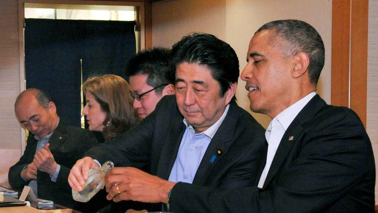 President Obama visited the restaurant in 2014