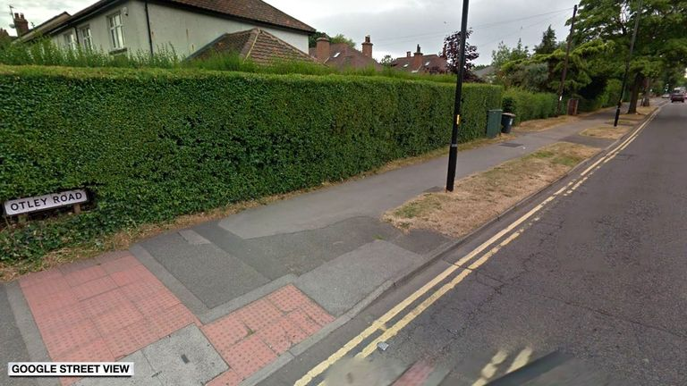 The collision happened on Otley Road. Pic: Google Street View