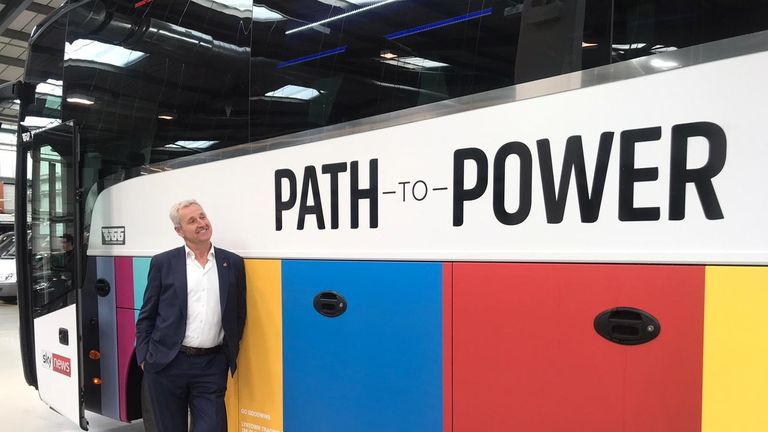 The path to power will be on Sky News at 5pm each night.