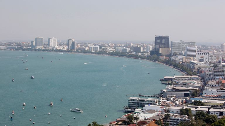 The trio escaped from a court in the beach town of Pattaya, 90 miles east of Bangkok