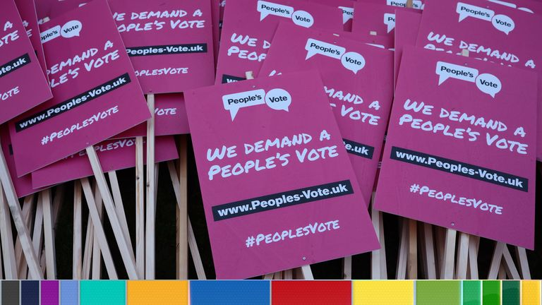 The People's Vote group has announced its tactical voting scheme