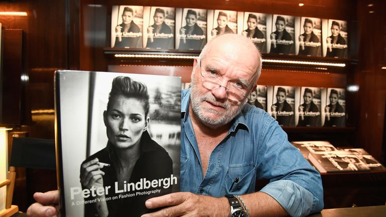 "Photographer Peter Lindbergh attends his Book Signing for ""A Different Vision On Fashion Photography"" TASCHEN Gallery on September 20, 2016 in Los Angeles, California"