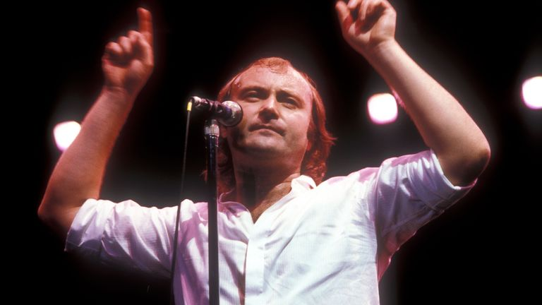 Phil Collins at the Various in Los Angeles, California