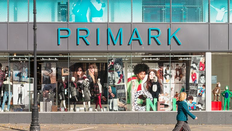 The security guard was employed by an outside company to work at Primark. File pic.