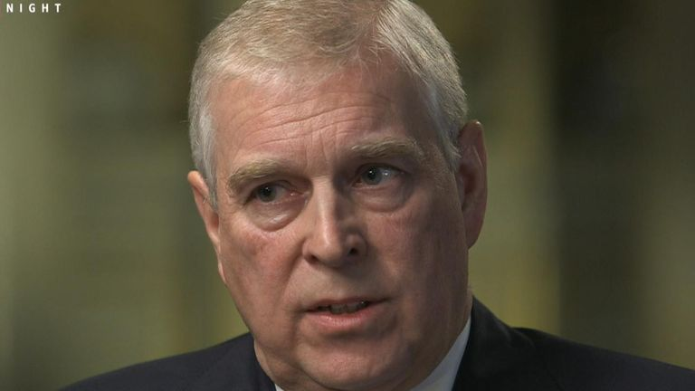 Prince Andrew first spoke publicly about his relationship with convicted sex offender Jeffrey Epstein, saying he & # 34; leave this page & # 34; as a member of the royal family.