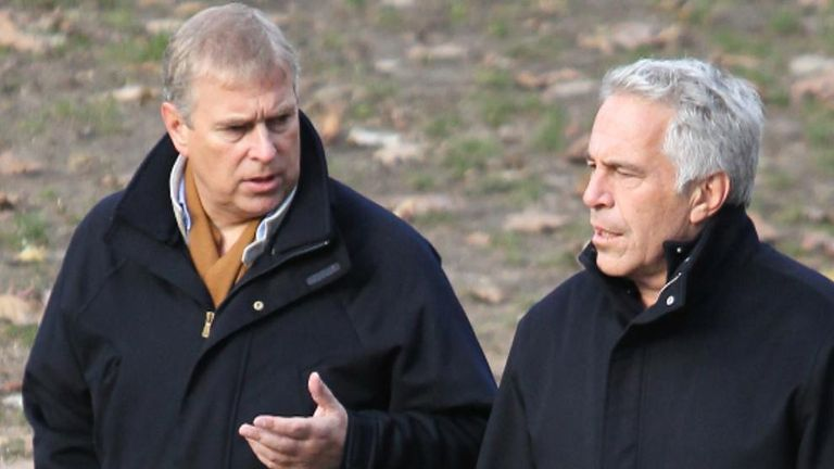 Prince Andrew says he 'let the side down' over his relationship with Jeffrey Epstein