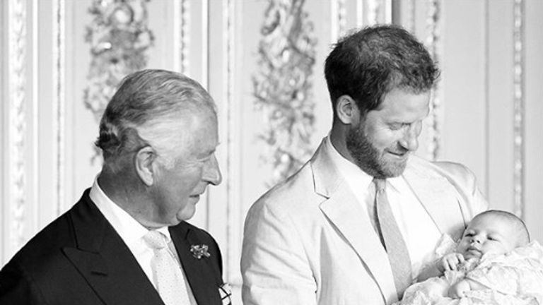 Prince Charles, Prince Harry and Archie