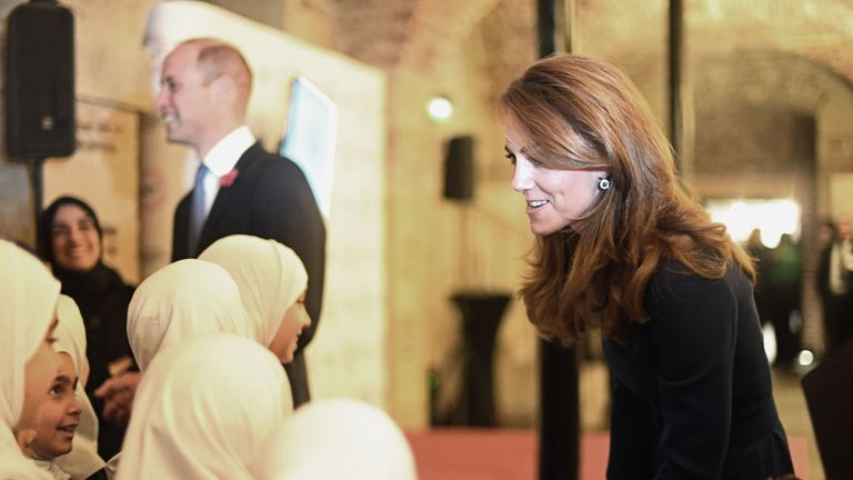 The Duke and Duchess of Cambridge attend the launch of the National Emergencies Trust