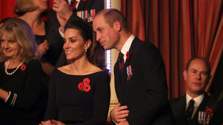 The Duke and Duchess of Cambridge have been seen in public with Harry and Meghan for the first time the Sussexes were in a candid documentary