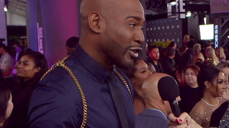 Karamo Brown, one of the Fab Five experts on the award-winning Queer Eye, speaks to Sky News at the E! People's Choice Awards.