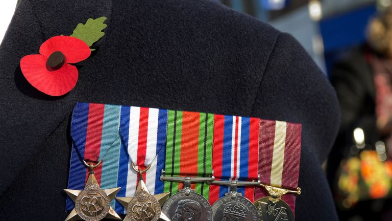 The country will remember those who died in conflict on Remembrance Sunday