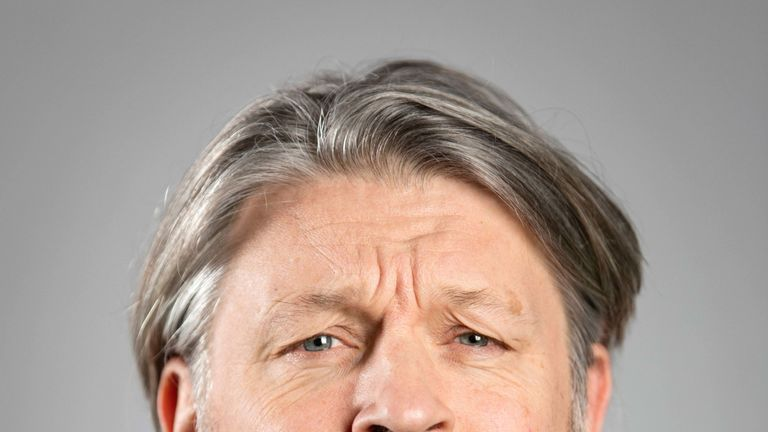 Richard Herring thinks it's lucky he didn't achieve Little Britain level success. Pic. Steve Brown