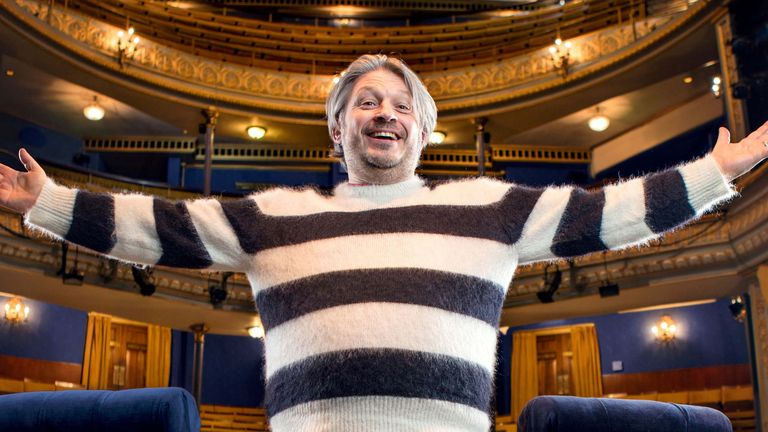 Richard Herring's Leicester Square Theatre Podcast (RHLSTP) has gained a legion of fans. Pic. Steve Brown