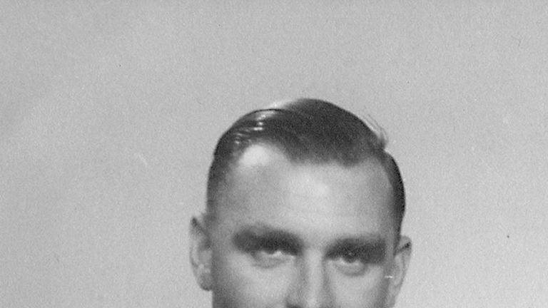 Ron Freer was captured during the Second World War