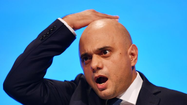 Chancellor Sajid Javid will be hoping the crediting rating on the UK government's debt is not downgraded