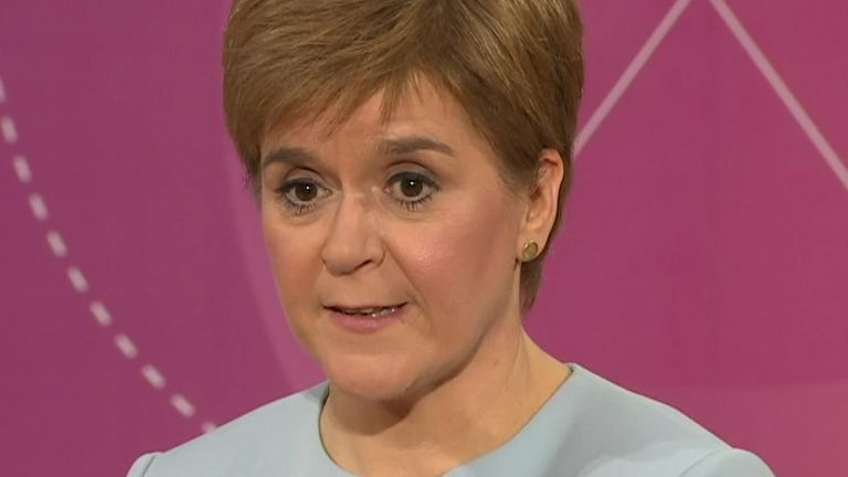 Speaking about a second EU referendum, Nicola Sturgeon says that 'it wasn't inevitable that Brexit was a mess'.
