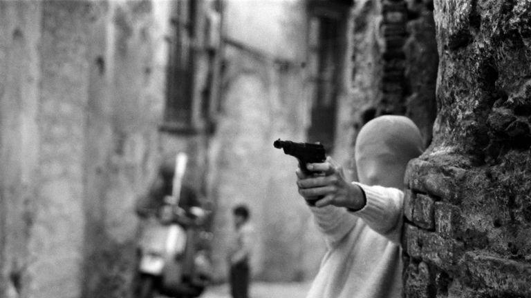 Shooting The Mafia. Interview with Kim Longinotto. Pic: Letizia Battaglia