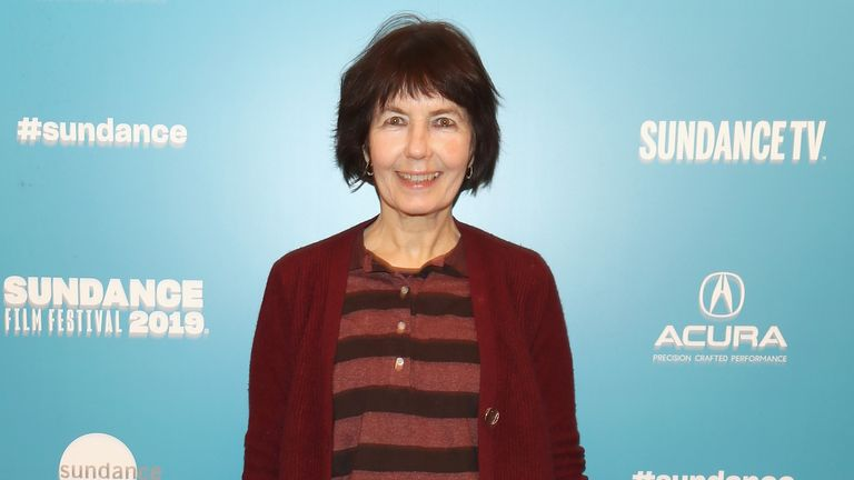"""Director Kim Longinotto attends the """"Shooting The Mafia"""" Premiere during the 2019 Sundance Film Festival at Egyptian Theatre on January 25, 2019 in Park City, Utah.  (Photo by Cassidy Sparrow/Getty Images)"""