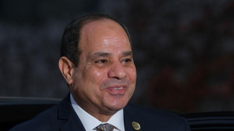 Abdel Fattah El-Sisi, President of Egypt