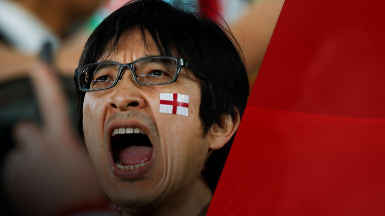 Japanese rugby fans fully embraced the World Cup