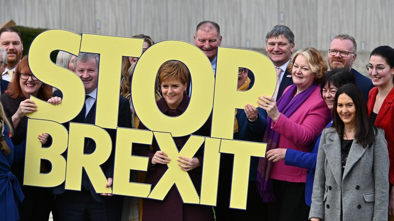 SNP election launch