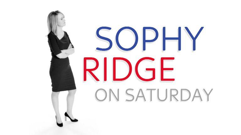 Sophie Ridge on Saturday