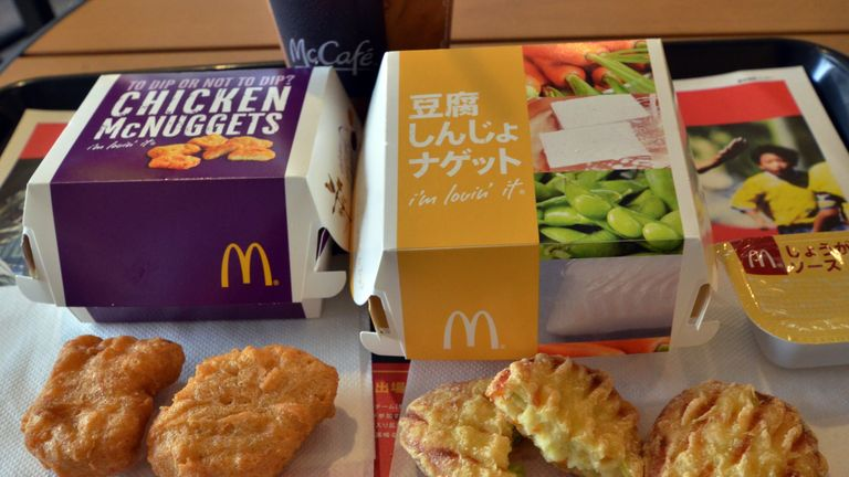 Steve Easterwood is credited with turning McDonald's around, including introducing regional menus such as tofu nuggets in Japan