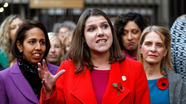 Jo Swinson, leader of the Liberal Democrats said 'we will pursue legal avenues if ITV do not change their format'
