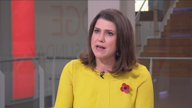 Lib Dems leader Jo Swinson made clear her anger at the current plan to only have Johnson and Corbyn in an election debate