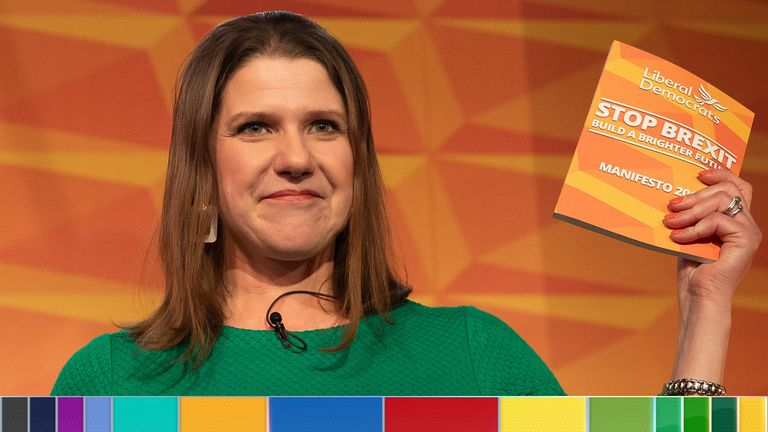 Jo Swinson, leader of the Liberal Democrats