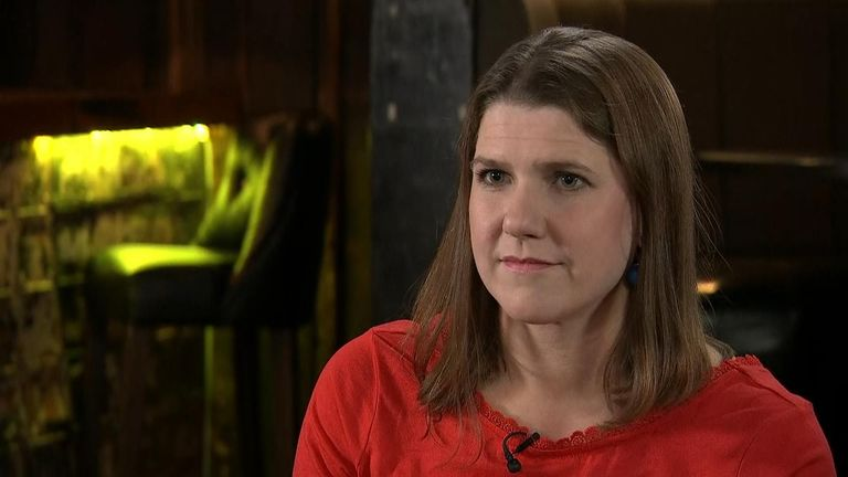 Liberal Democrat leader Jo Swinson defended the policy of standing candidates in Labour/Tory marginals, which risks splitting the remain vote