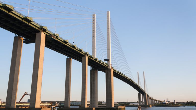 Thurrock is known for the Dartford River Crossing