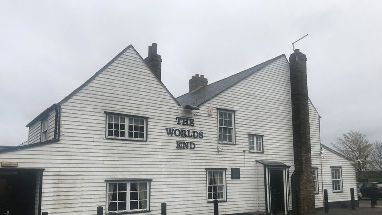 The World's End pub in Thurrock